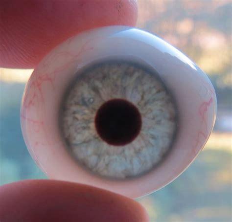 vintage prosthetic green glass human eye realistic eye