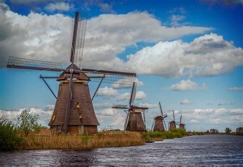 windmill  ultra hd wallpaper background image