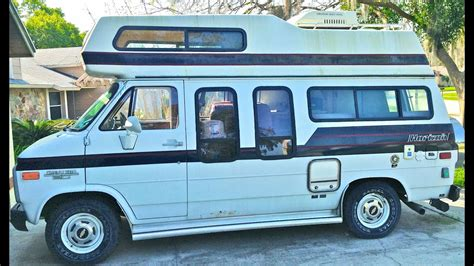 Camper Van. Tour Of My New Class B Rv