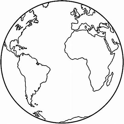 Earth Coloring Planet Pages Globe Drawings Tattoo