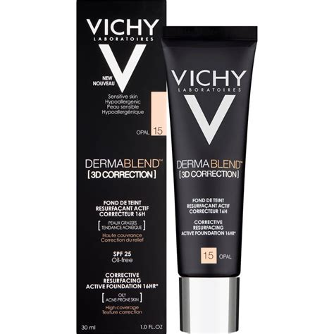vichy dermablend  correction foundation ml  delivery