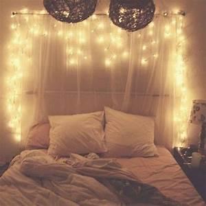 Bedroom, Fairy, Lights, Headboard, Design, U2013, Decoredo