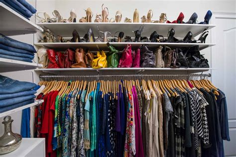 Color Coded Closet by Featured This Harmonious