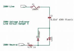 Mains Voltage Current Led Indicators