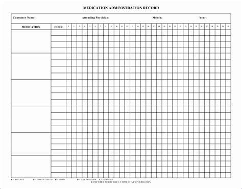 medication administration record template 6 swim diagram template excel exceltemplates exceltemplates