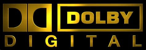Dolby Digital Gold Logo