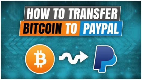 Do you want to exchange btc bitcoin, btc for ppusd paypal, usd at a profitable rate? How To Transfer Bitcoin Into Paypal Account Bitcoin Cash Exchange Rate Chart - Sítio Cercado