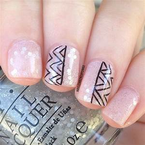 Nail designs for short nails to do at home
