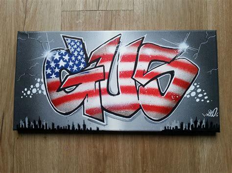 tag chambre ado tableau graffiti décoration york graff deco chambre d