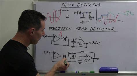 Finding The Leak Opamp Peak Detector Circuit Page
