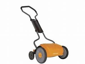 Fiskars Staysharp Push Reel Lawn Mower