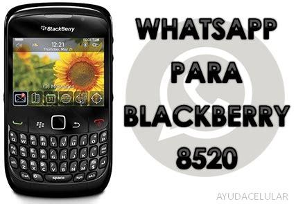 descargar whatsapp version vieja para blackberry 8520 ayuda celular