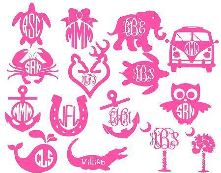 monogram fonts  vinyl wowcom image results cricut monogram font
