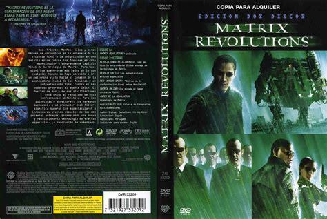 Carátula Caratula de Matrix Revolutions (The Matrix