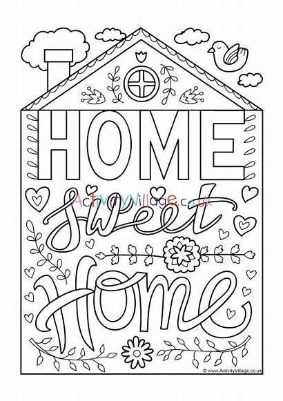 Colouring Sweet Quotes Pages Activity Village Become