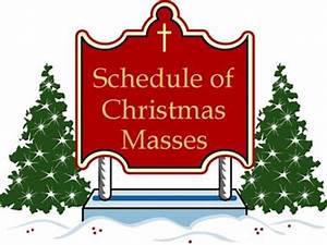 St Gabriel Catholic Church: Christmas Mass Schedule