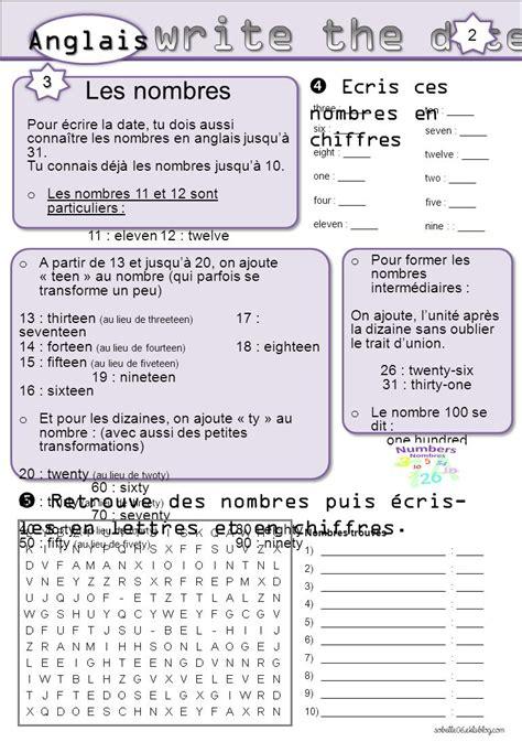 Date En Chiffre The Days Les Jours The Months Les Mois Ppt T 233 L 233 Charger