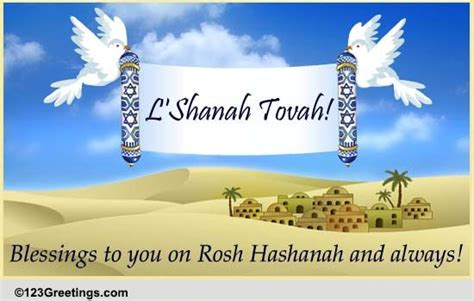 blessings  rosh hashanah  wishes ecards greeting cards