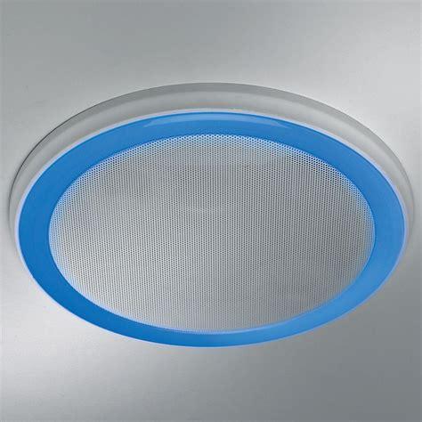bathroom white bluetooth  stereo speaker exhaust vent