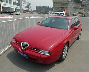 Alfa Romeo 166 : spotted in china alfa romeo 166 in red ~ Gottalentnigeria.com Avis de Voitures