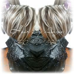 Short Frosted Hair Highlights