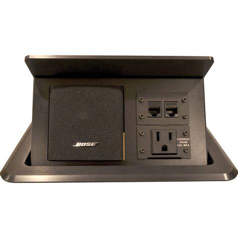 fsr floor box inserts fsr tb bose ips tilting table box for bose tb bose ips blk b h