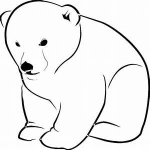 The gallery for --> Standing Polar Bear Stencil