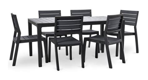 ensemble table et 6 chaises emejing chaise de jardin keter contemporary design