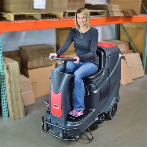 Viper Floor Scrubber Battery Charger by Viper As710r Ride On Scrubber Drier New Machine Complete