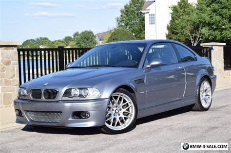 2005 Bmw M3 Base Coupe 2-door For Sale In United States