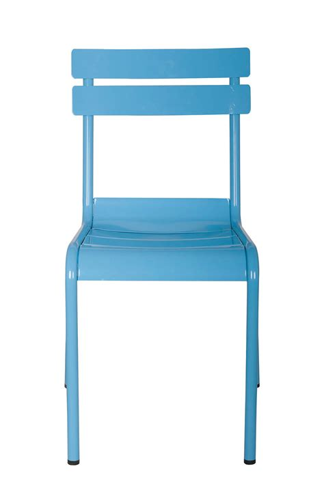 replica frederic sofia metal chair light blue