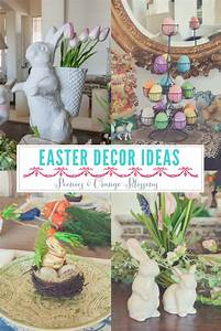 peonies and orange blossoms easter decorating ideas an With house decorating ideas for easter
