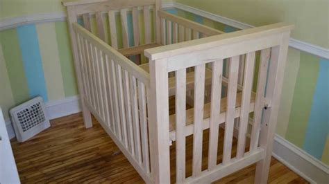 how to make a baby crib building a crib
