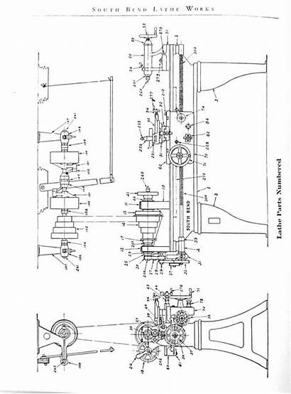 Bend Parts South Manual Lathes Early Lathe
