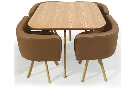 table avec chaise encastrable table avec chaise encastrable maison design modanes com
