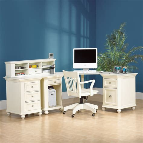 desk with hutch and drawers l shaped white wood computer desk with low hutch and