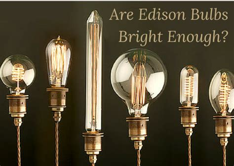 Are Edison Bulbs Bright Enough? Round Wood And Glass Coffee Table Black Tables G Plan Oval Ideas For Decorating Top Of A Rail Cart Queen Anne Style Brown Marble