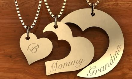 jewelry u design generations necklace set 3 pc jewelryudesign groupon