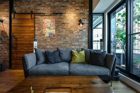 Decorating Ideas New York Style by Charming Industrial Loft In New Taipei City Idesignarch