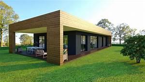 Prix Maison En Bois En Kit : prix maison kit bois prix maison en rondin de bois tarif ~ Nature-et-papiers.com Idées de Décoration