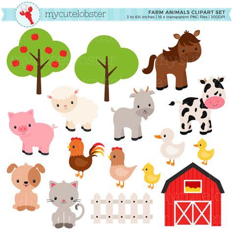 farm animals clipart barn animal pencil   color