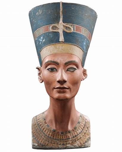 Nefertiti Bust Egypt Ancient History Egyptian Pharaoh