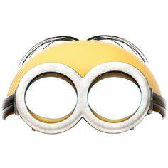 minions free printable mask minions pinterest With minion mask template