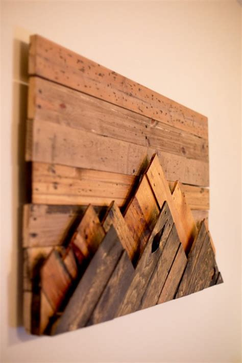 wooden wall decor art finds    add rustic