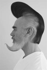 Pompadour With Beard | HAIRSTYLE GALLERY