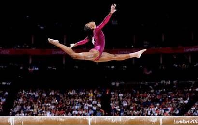 Gabby Douglas Olympics Gymnastics Olympic Beam Risk