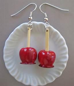 Gerät Zum Messen Der Länge : food jewelry candied apple earrings ohrringe ~ Frokenaadalensverden.com Haus und Dekorationen