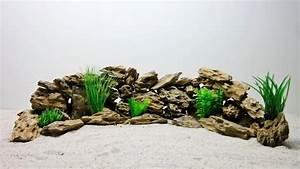 Aquarium Deko Steine : aquarium deko natursteine in w stensand optik dekoration felsen steine aquaristik ~ Frokenaadalensverden.com Haus und Dekorationen