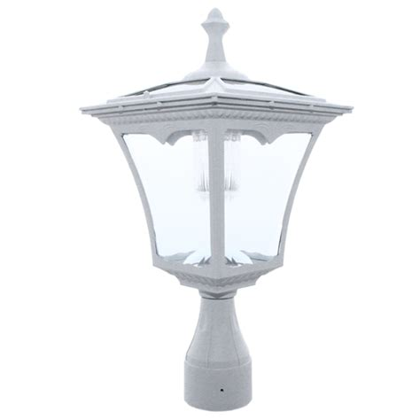 pl05 solar regency post pole top light