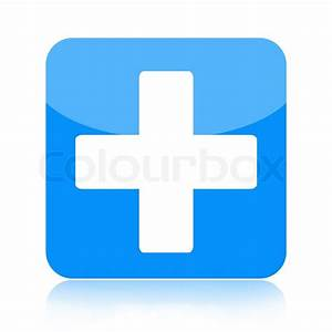 First aid icon with medical cross | Stock Photo | Colourbox
